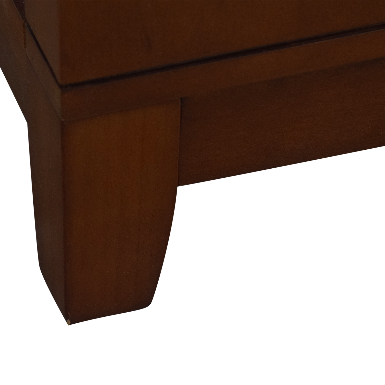 Raymour & Flanigan Wood and Glass Media Console sale
