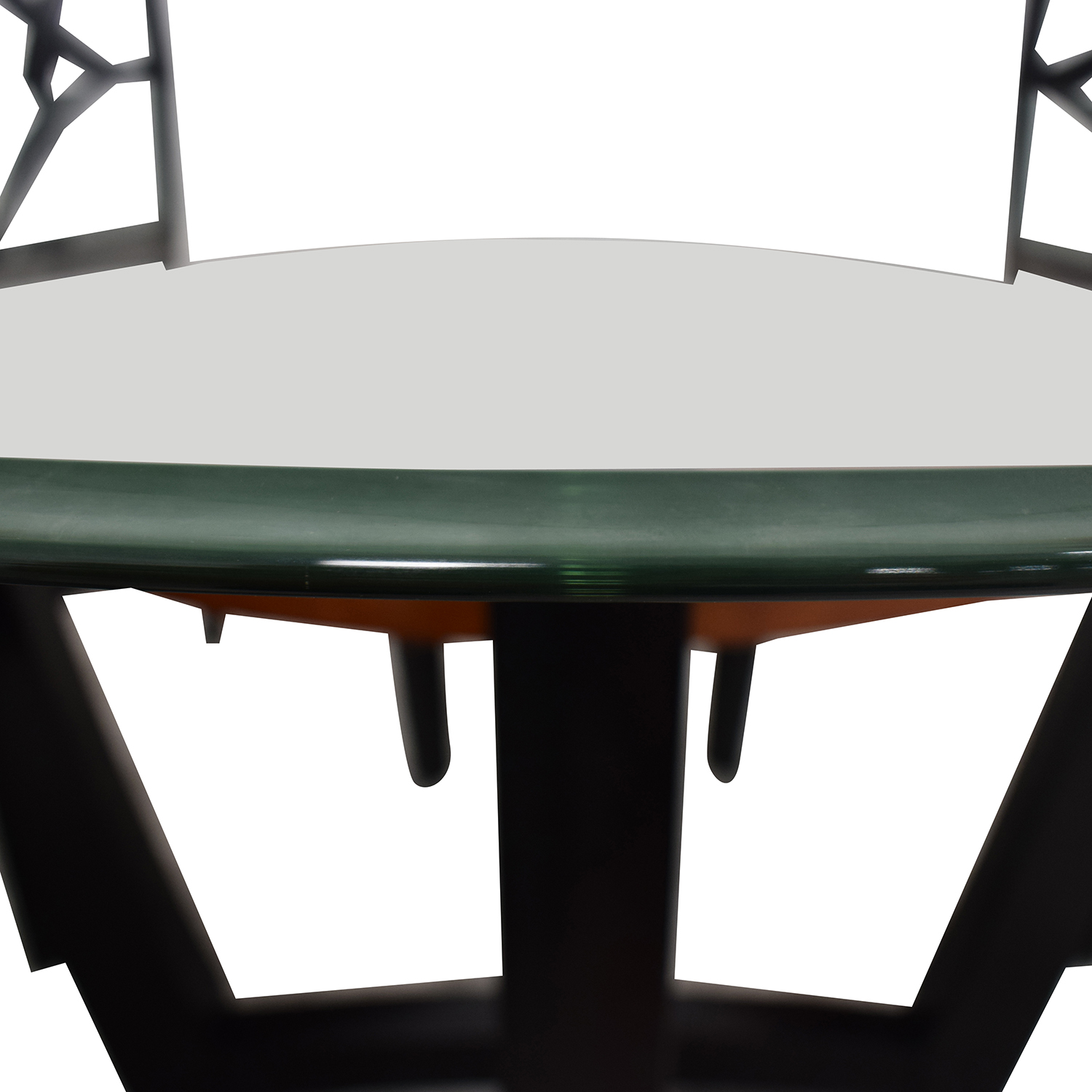 Raymour & Flanigan Wood and Glass Dining Set / Dining Sets