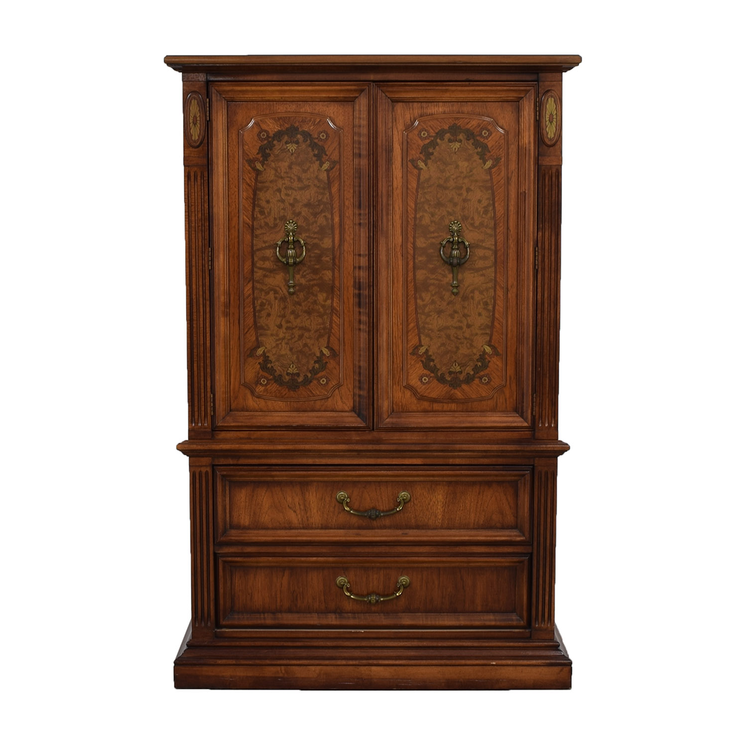 Stanley Furniture Wood Wardrobe Armoire For