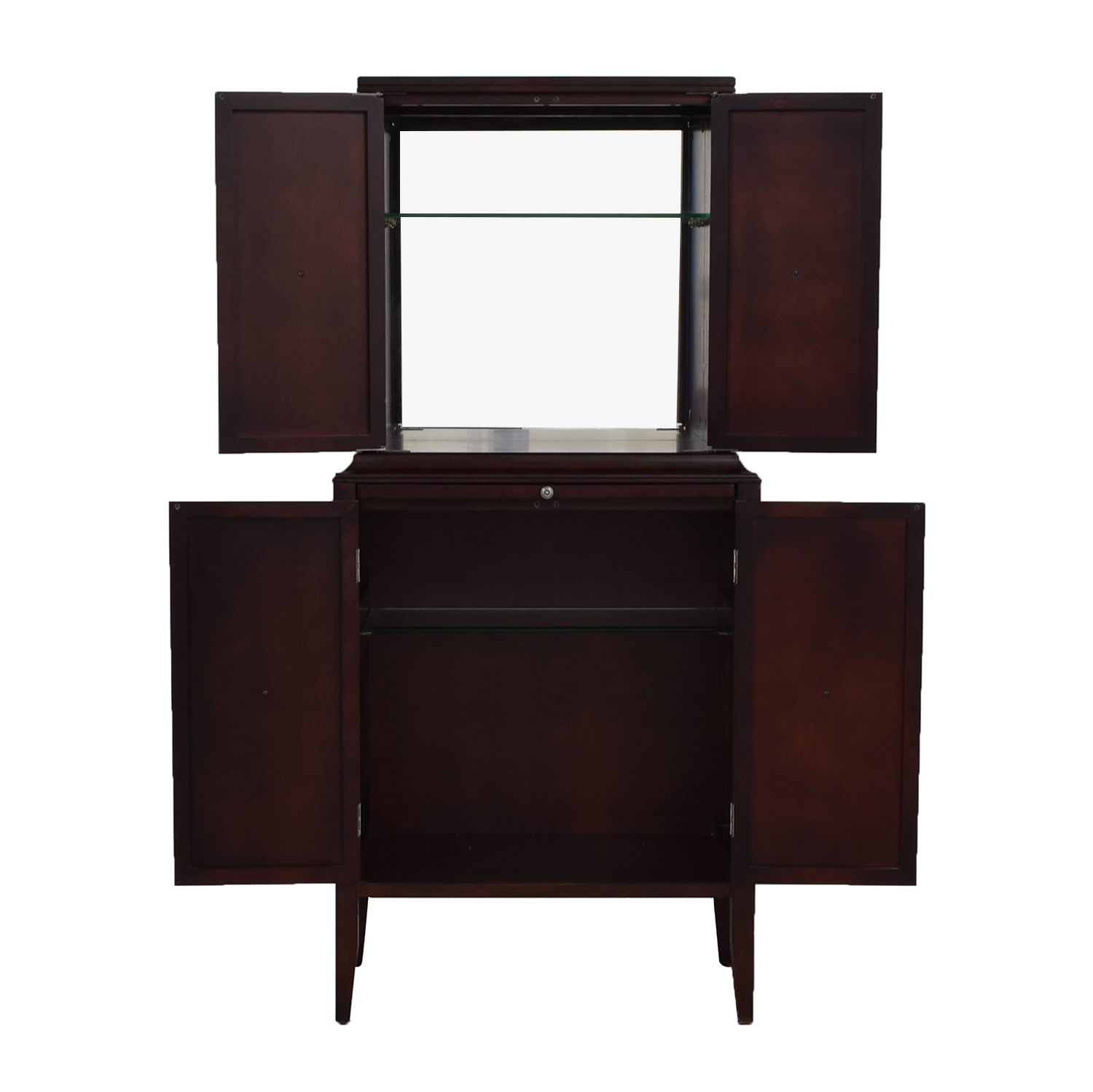 Bombay Company Wood Wine Bar Cabinet / Storage