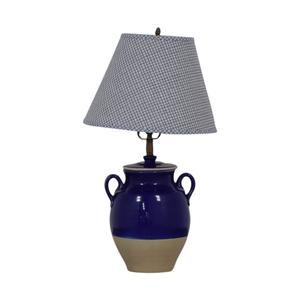 Pierre Deux Blue Table Lamp sale