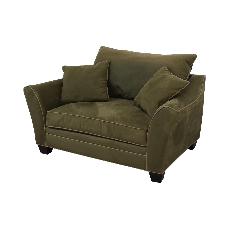 Raymour & Flanigan Raymour & Flanigan Briarwood Brown Chair and a Half coupon