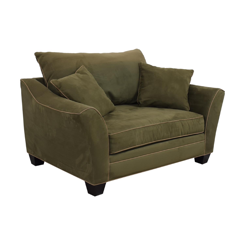 Raymour & Flanigan Raymour & Flanigan Briarwood Brown Chair and a Half nyc