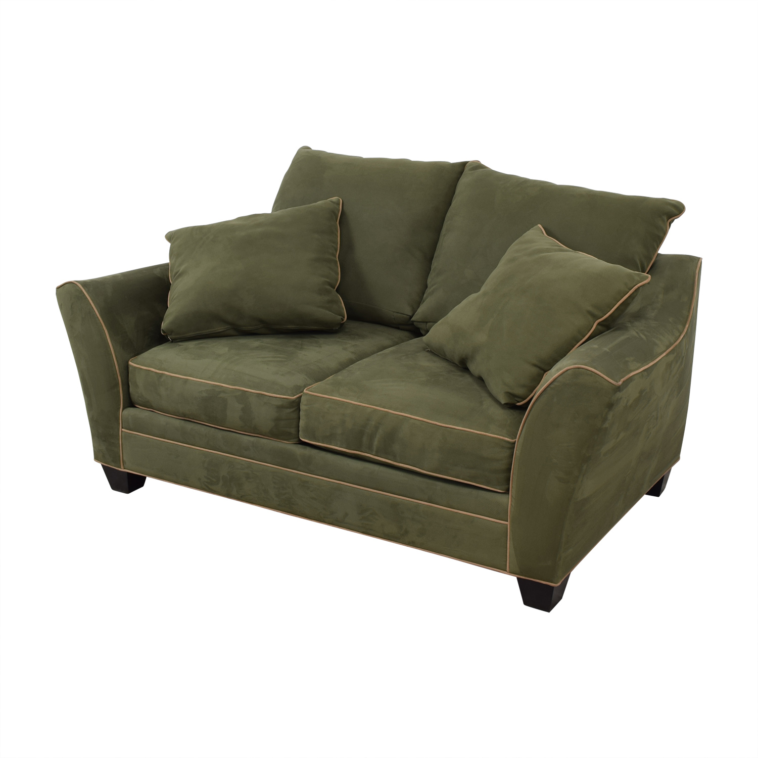 Raymour & Flanigan Raymour & Flanigan Briarwood Brown Two-Cushion Loveseat price