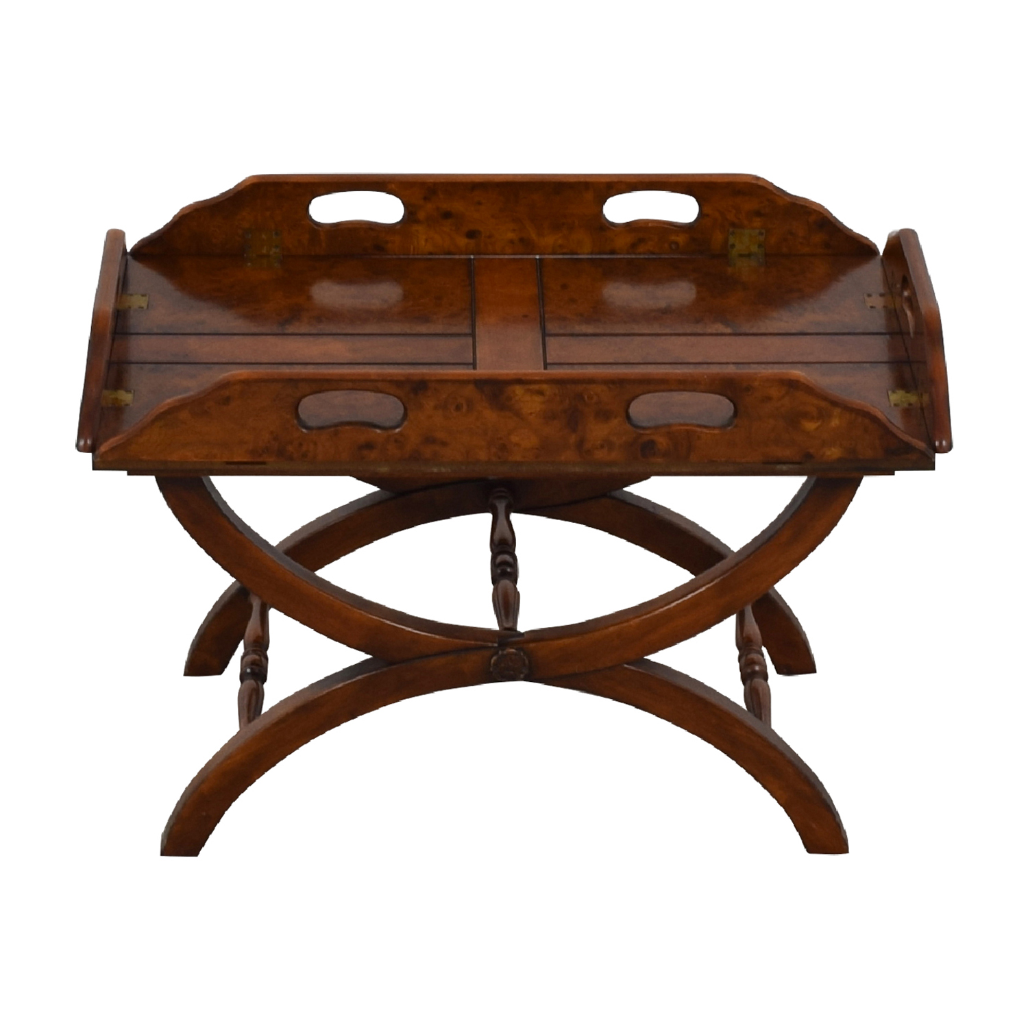 Side Folding Wood Coffee Table sale