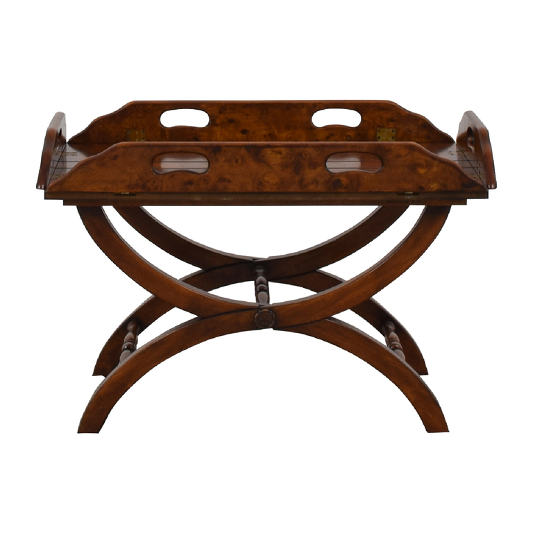 buy Side Folding Wood Coffee Table
