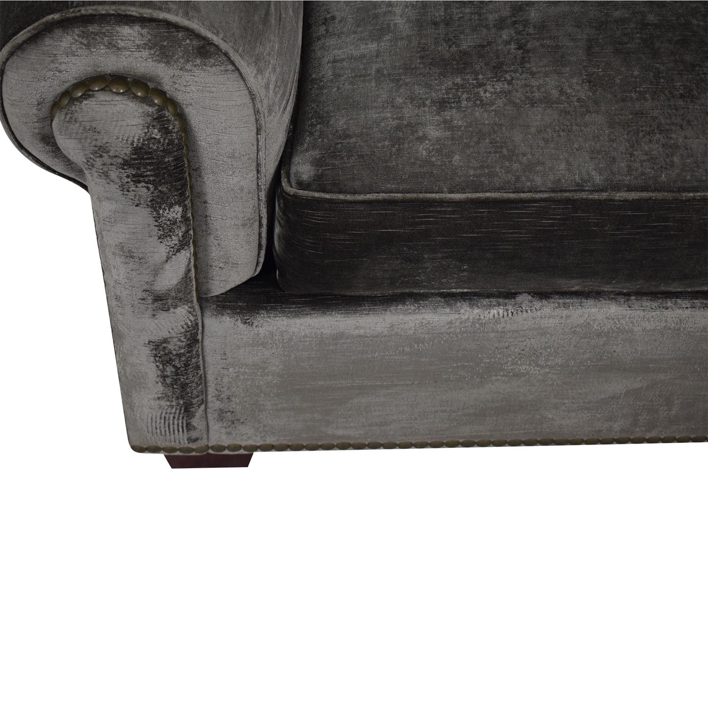 buy Two Cushion Nailhead Loveseat  Sofas