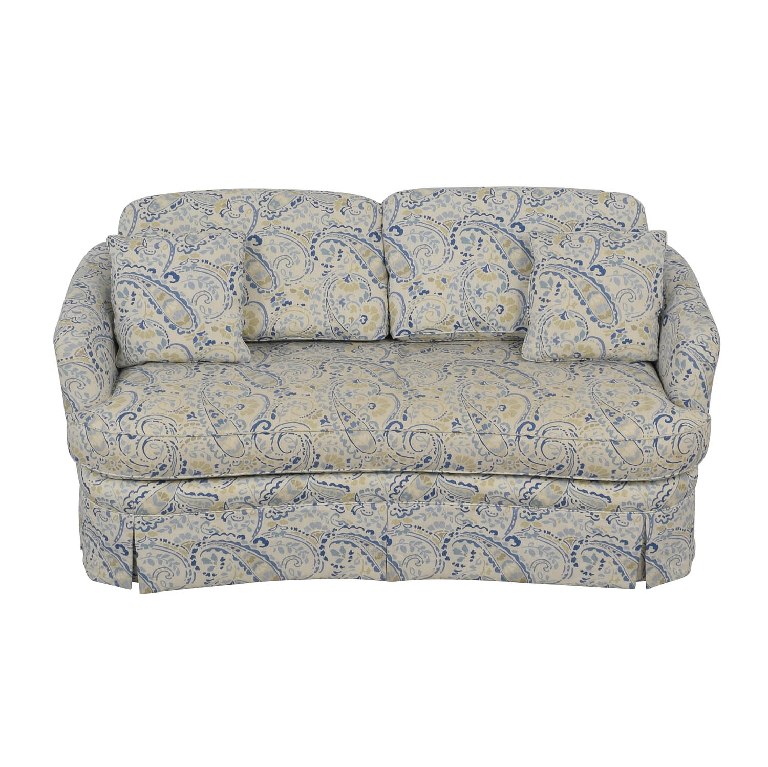 Taylor King Taylor King Multi-Colored Single Cushion Love Seat coupon