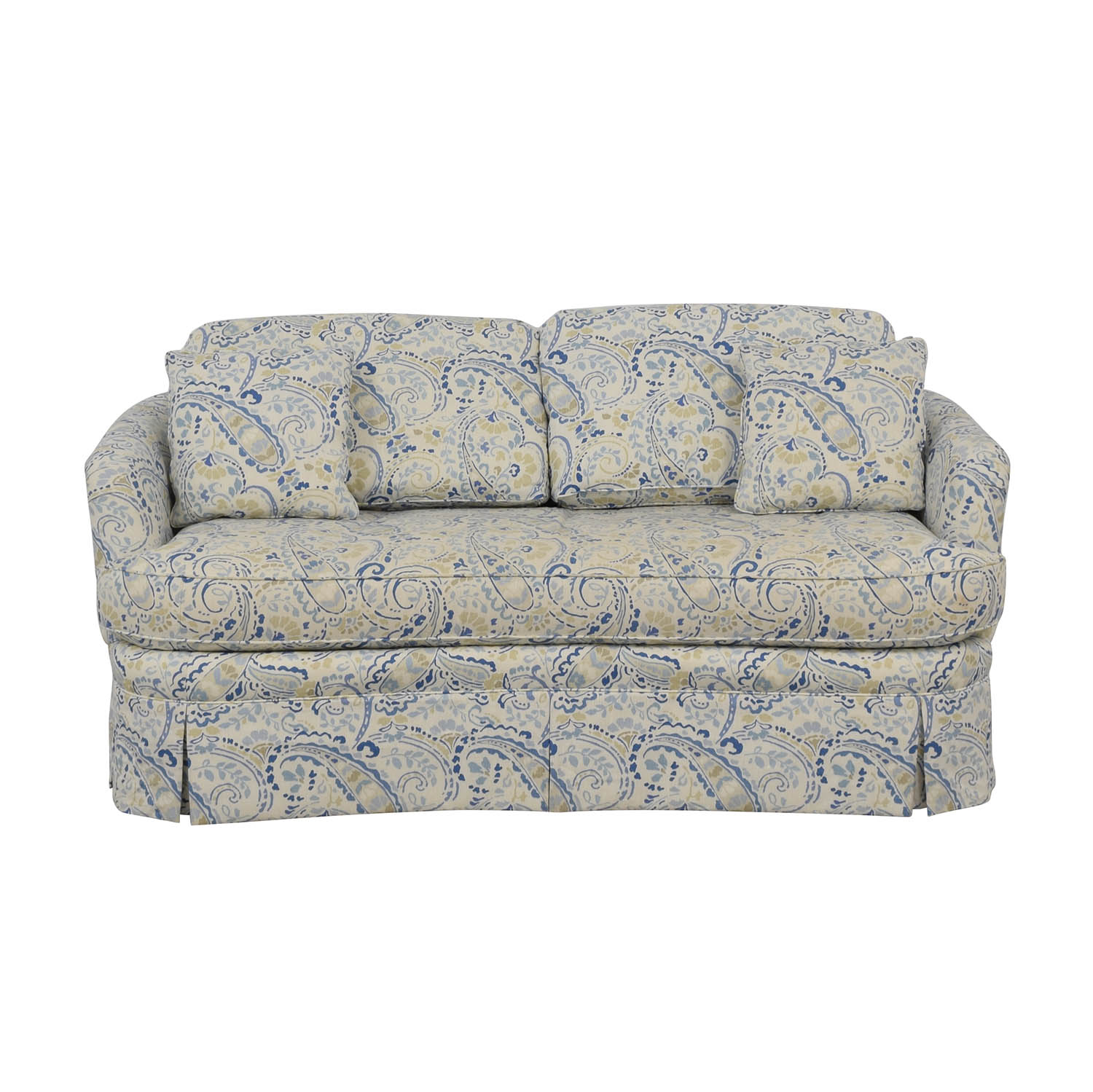 buy Taylor King Multi-Colored Single Cushion Love Seat Taylor King