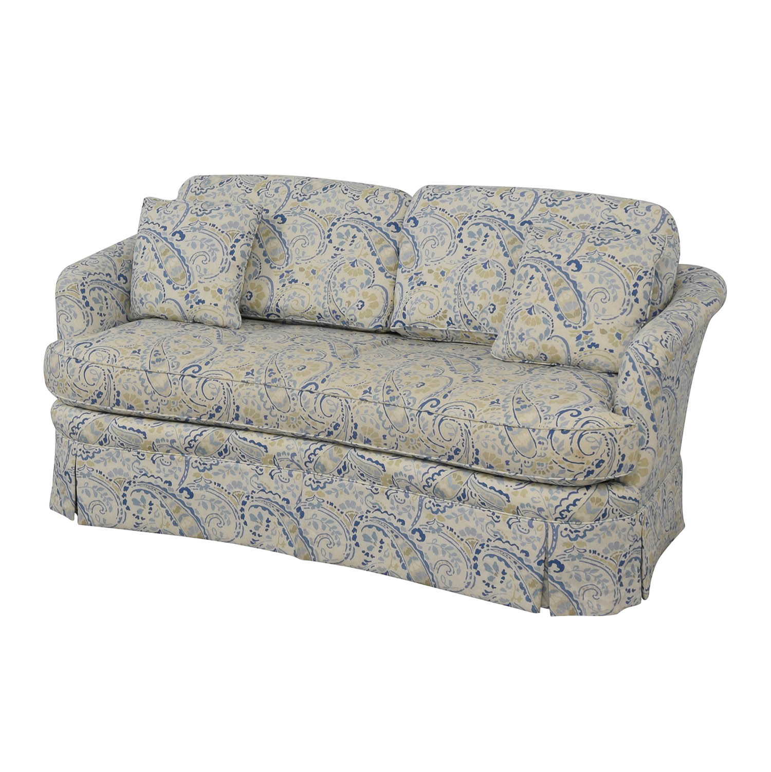 shop Taylor King Multi-Colored Single Cushion Love Seat Taylor King