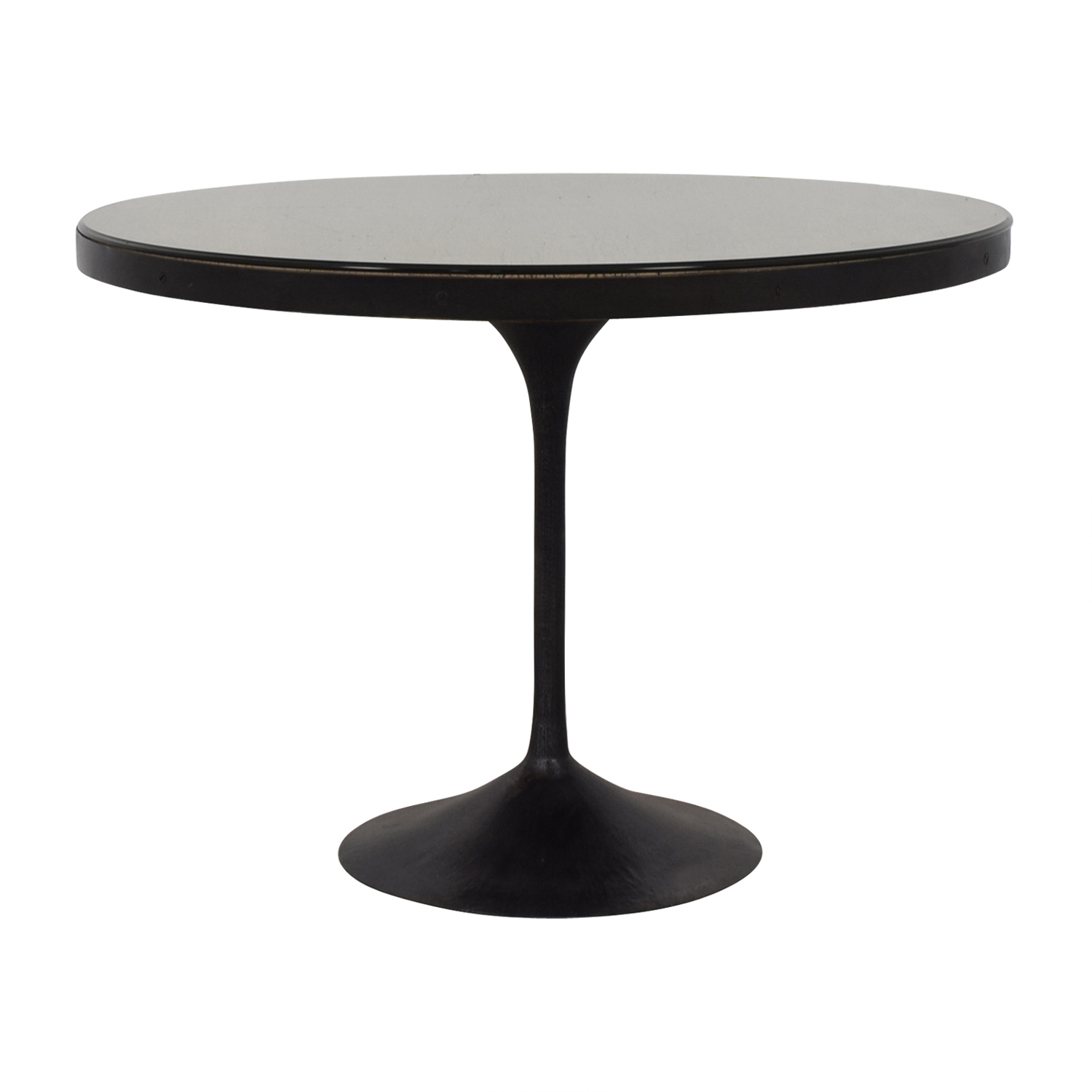 Restoration Hardware Restoration Hardware Aero Round Dining Table on sale