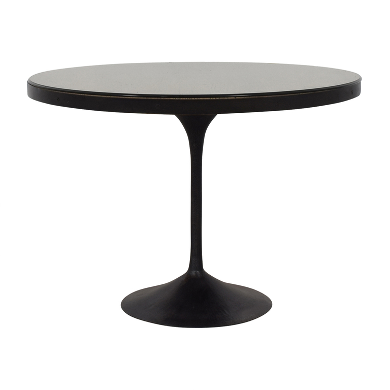 Restoration Hardware Restoration Hardware Aero Round Dining Table second hand