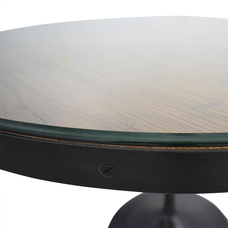 shop Restoration Hardware Aero Round Dining Table Restoration Hardware Dinner Tables