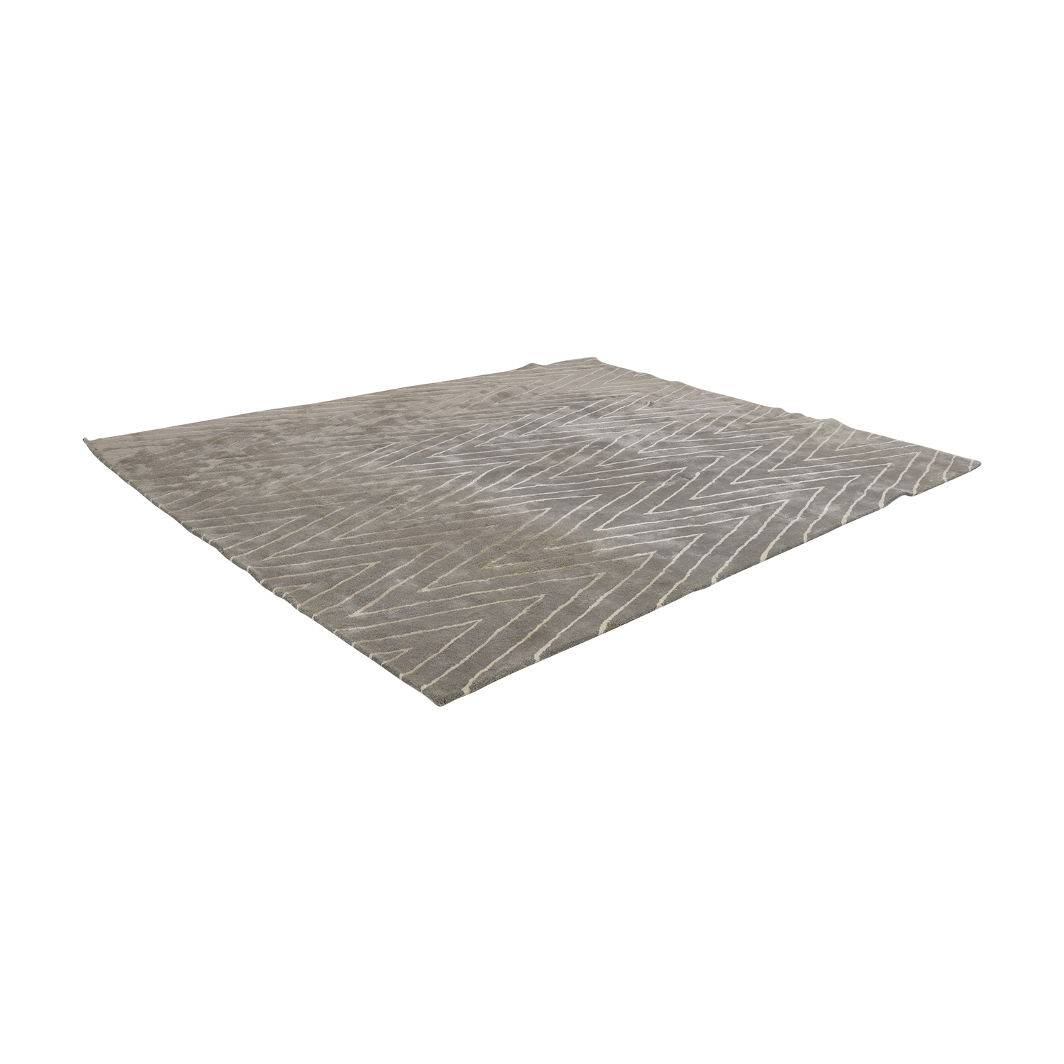 buy Safavieh Grey and White Chevron Rug Safavieh
