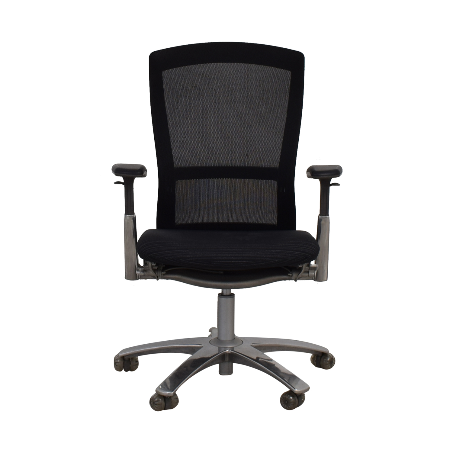 Knoll Knoll Life Black Striped Desk Chair
