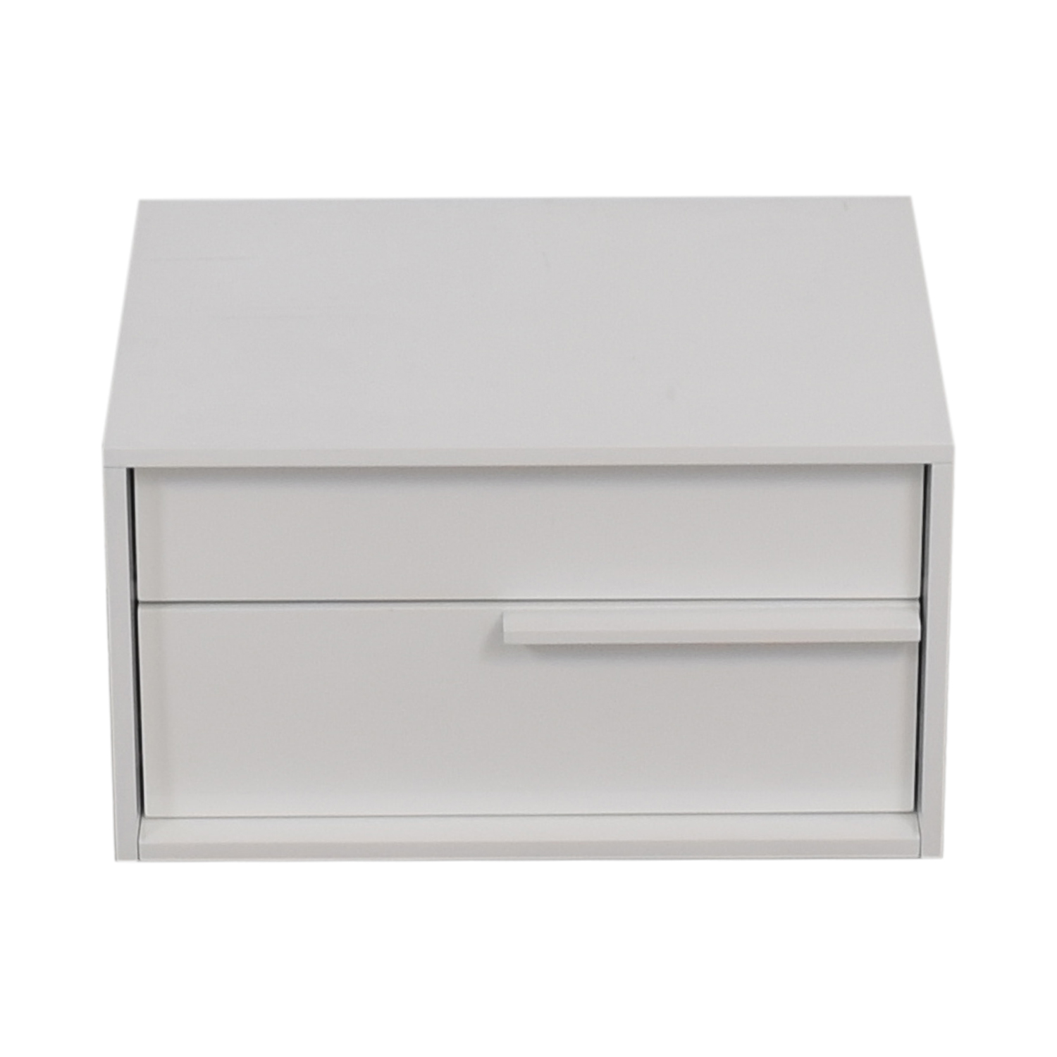 Modloft Modloft White Two-Drawer Night Stand price