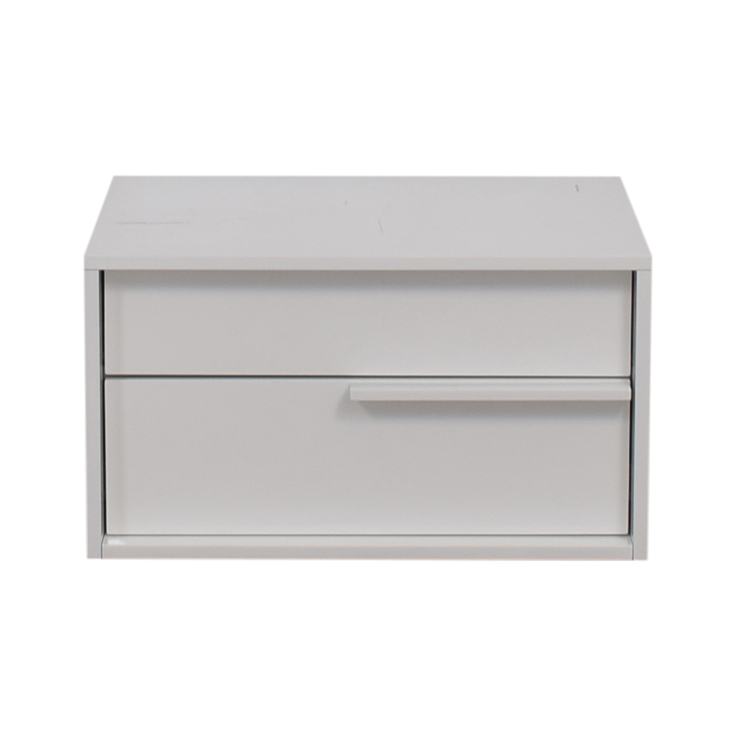 Modloft Modloft White Two-Drawer Night Stand coupon