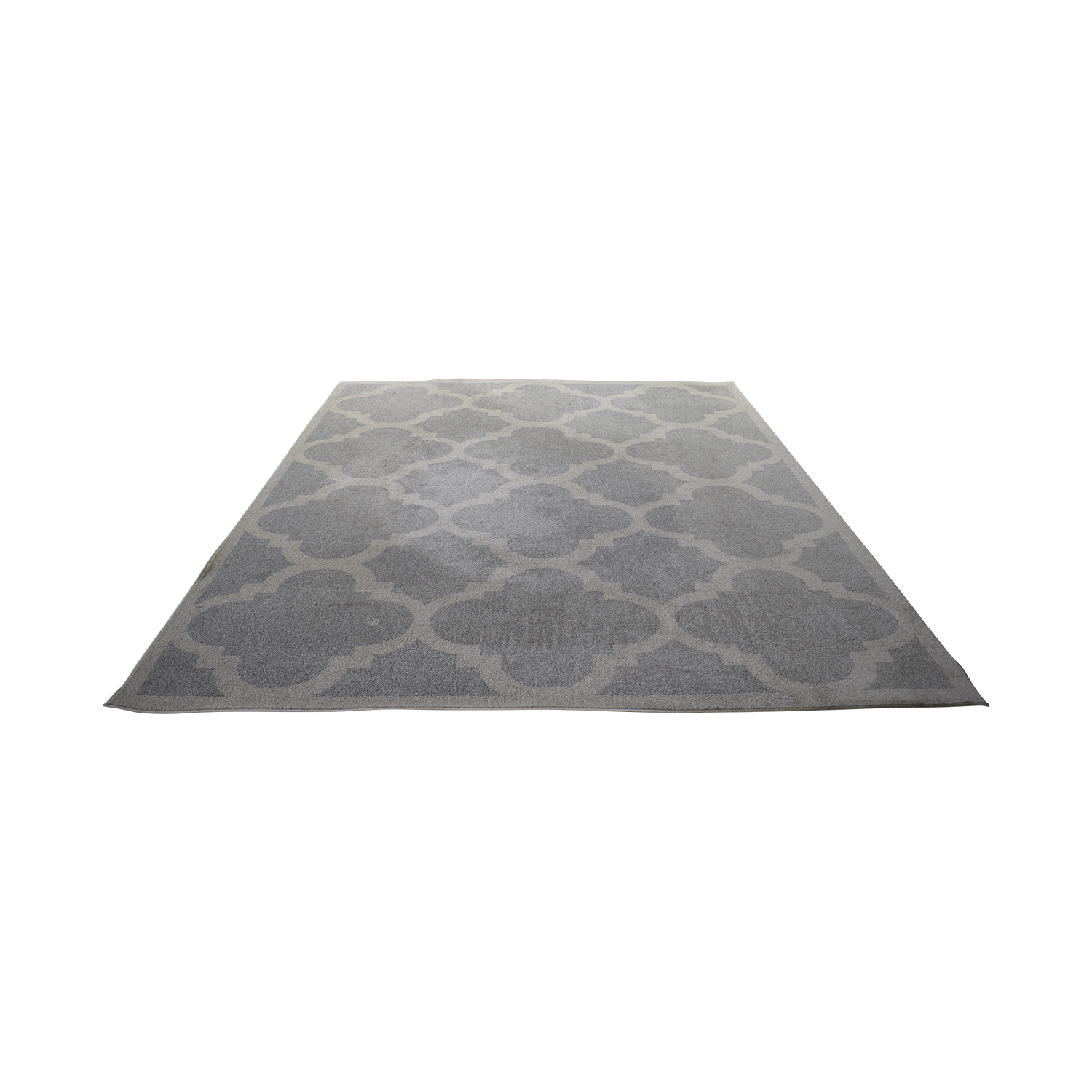shop Safavieh Gray and White Rug Safavieh