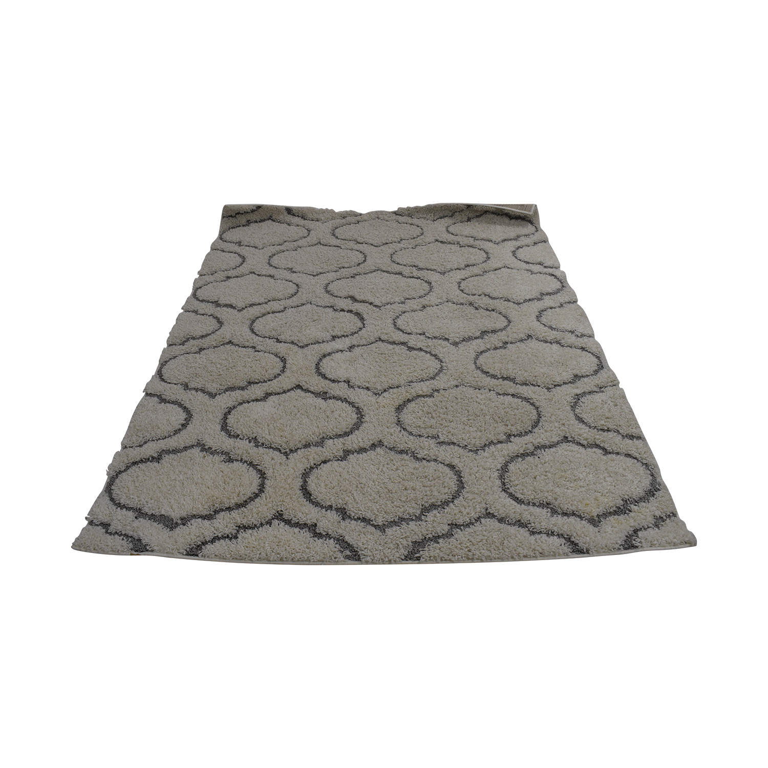 shop Royal Vintage Lorena Cream and Gray Rug  Decor
