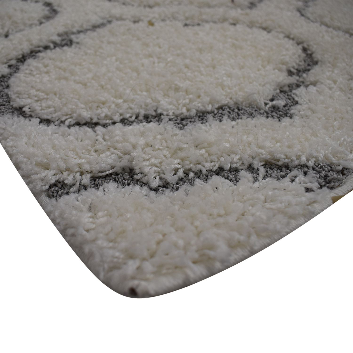 shop Royal Vintage Lorena Cream and Gray Rug  Rugs