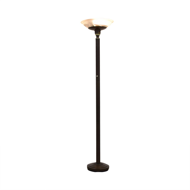 shop Torchiere Floor Lamp  Decor