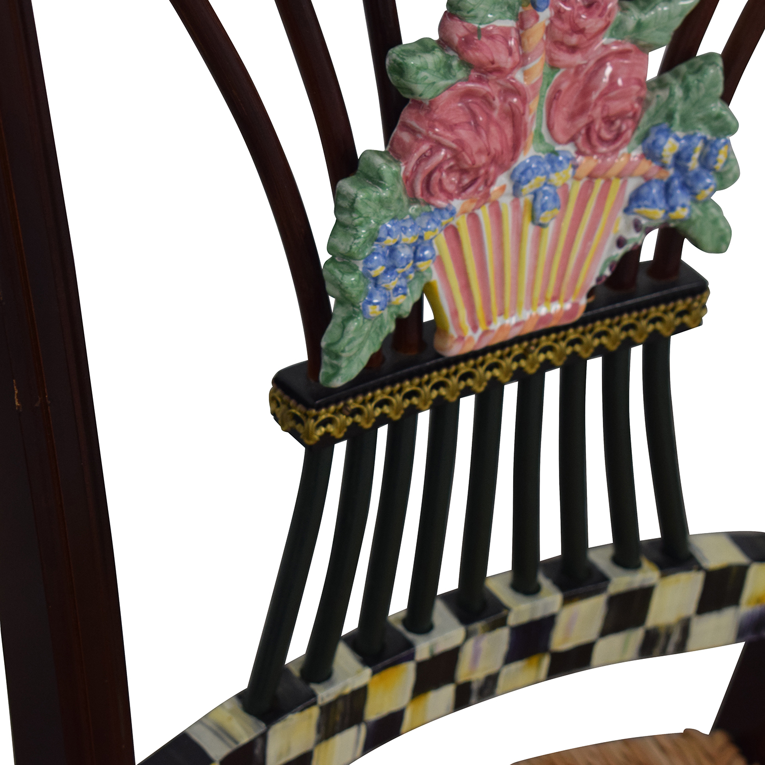 Admirable 83 Off Mackenzie Childs Mackenzie Childs Multi Colored Wicker Dining Chairs Chairs Beatyapartments Chair Design Images Beatyapartmentscom