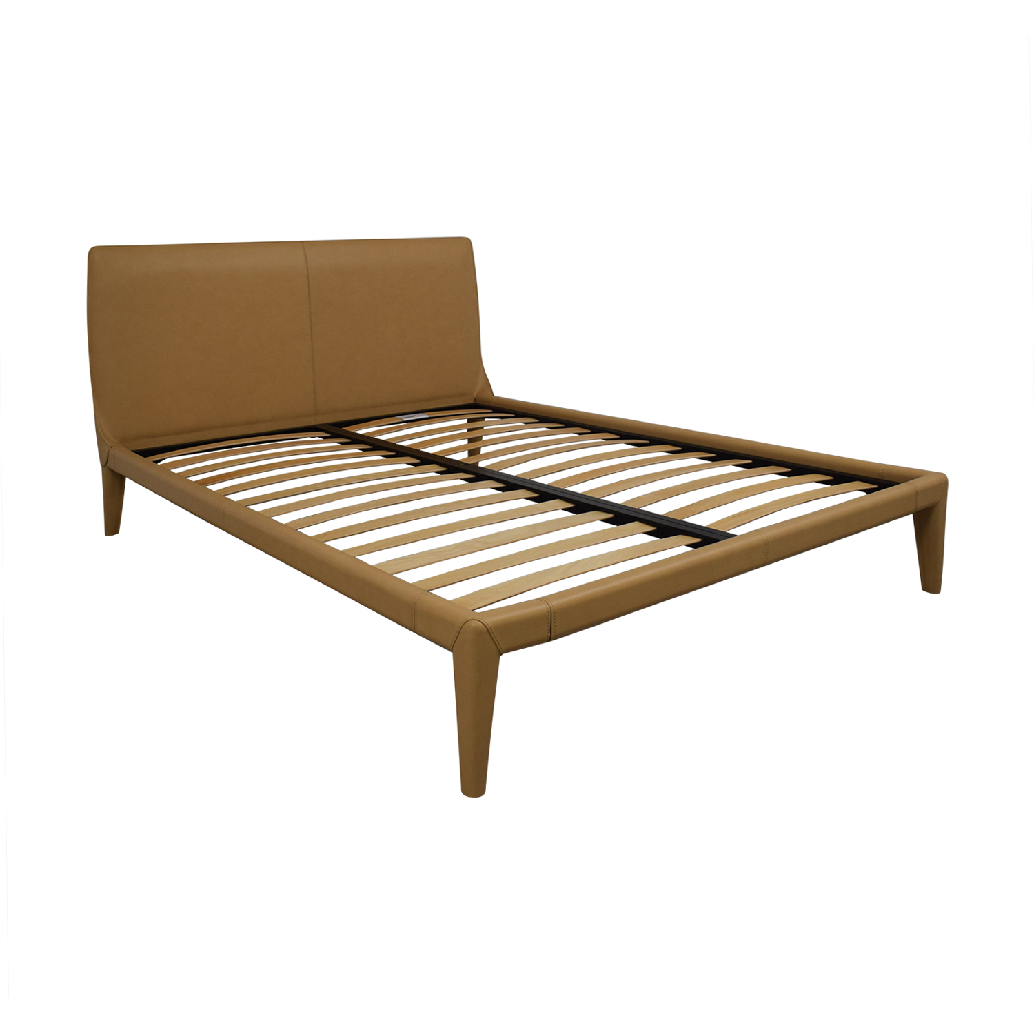 Design Within Reach Design Within Reach Vella Buff Platform Queen Bed Frame for sale