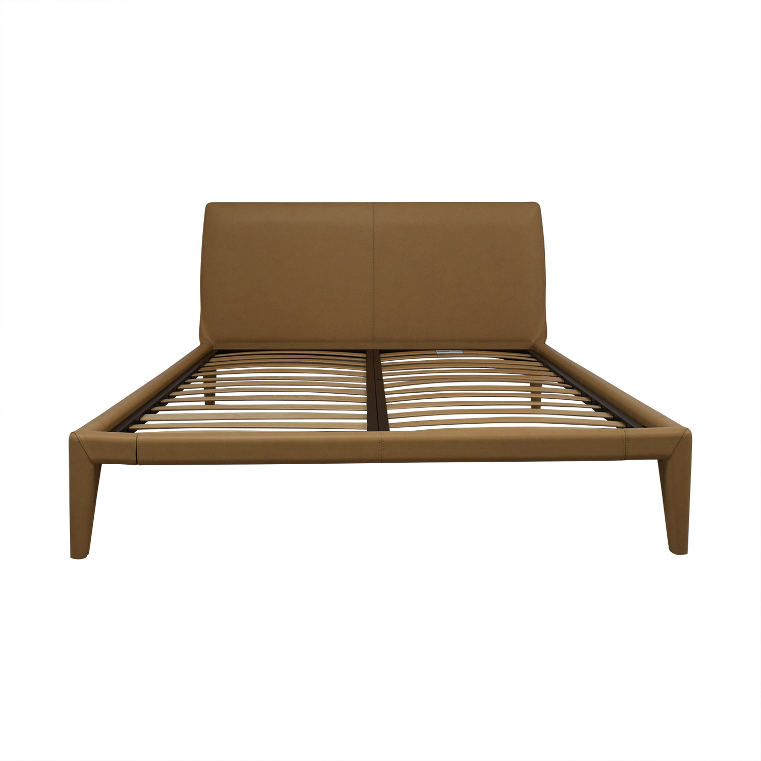 Design Within Reach Design Within Reach Vella Buff Platform Queen Bed Frame