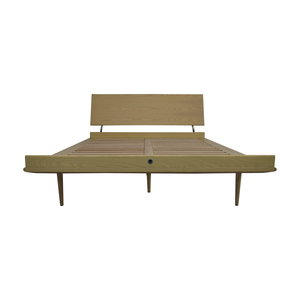 Design Within Reach Design Within Reach Nelson Ash Thin Edge Platform Full Bed Frame nyc