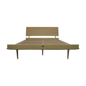 Design Within Reach Design Within Reach Nelson Ash Thin Edge Platform Full Bed Frame nj