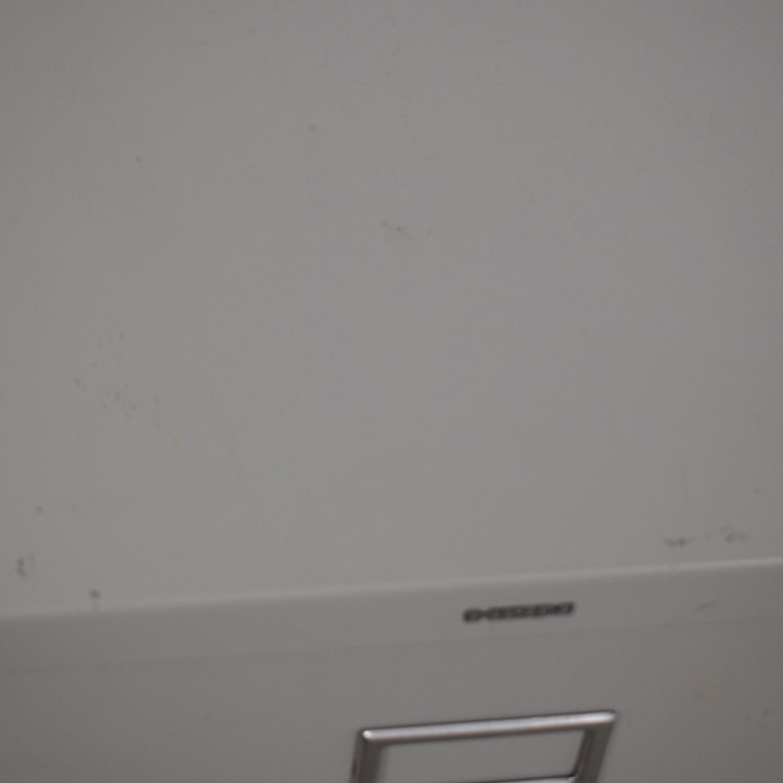 shop Hon HON Vertical Beige Two-Drawer File Cabinet online
