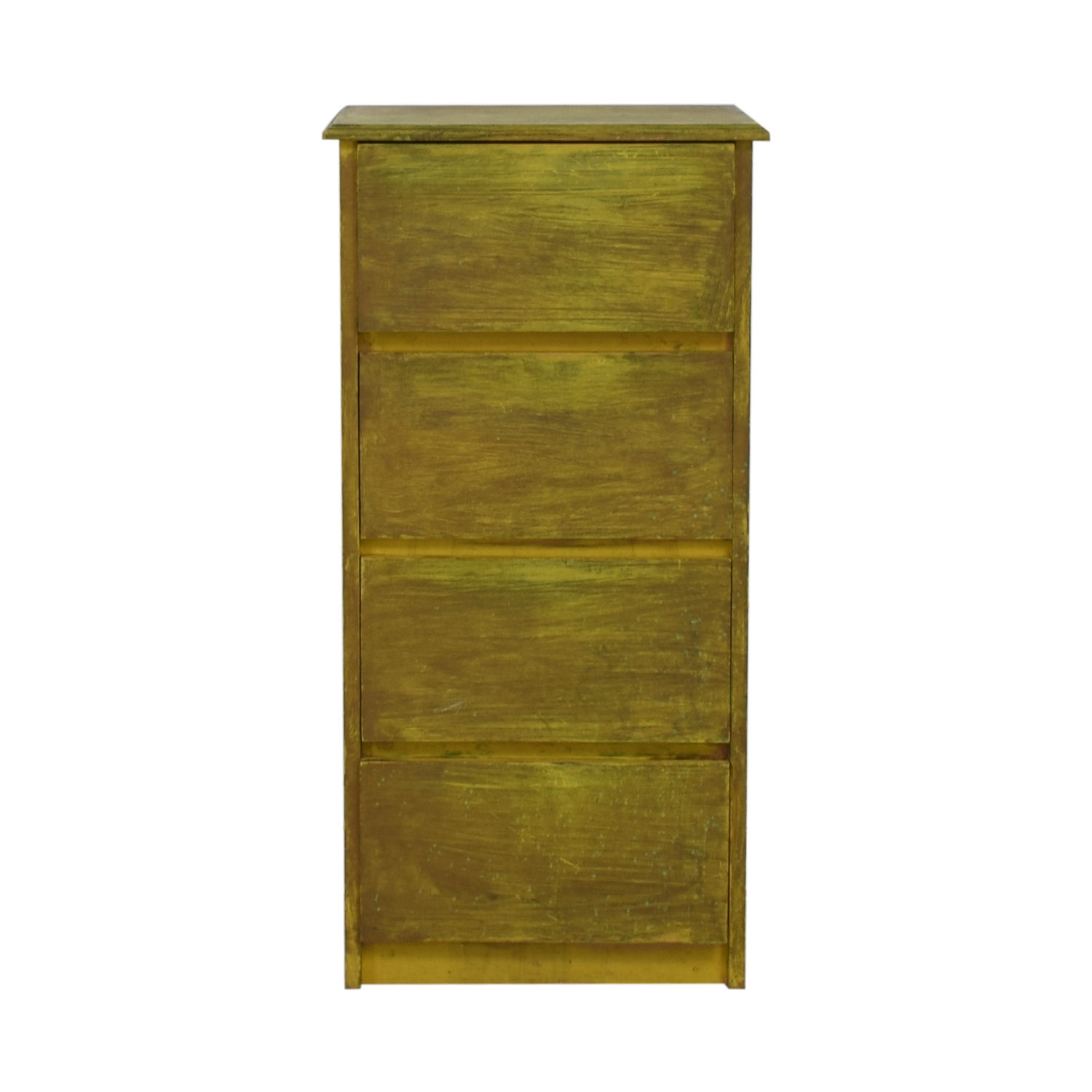 Joss & Main Joss & Main Distressed Green Four-Drawer Dresser dimensions