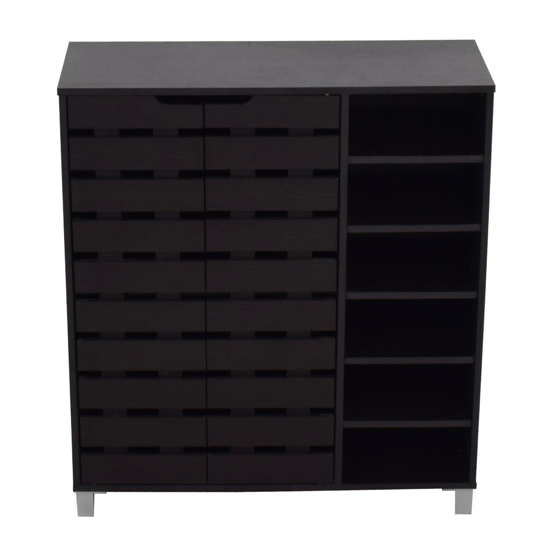 Joss & Main Joss & Main Black Storage Cabinet used