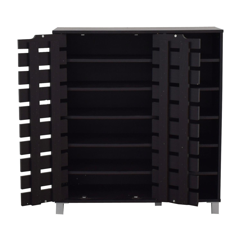 Joss & Main Joss & Main Black Storage Cabinet Storage