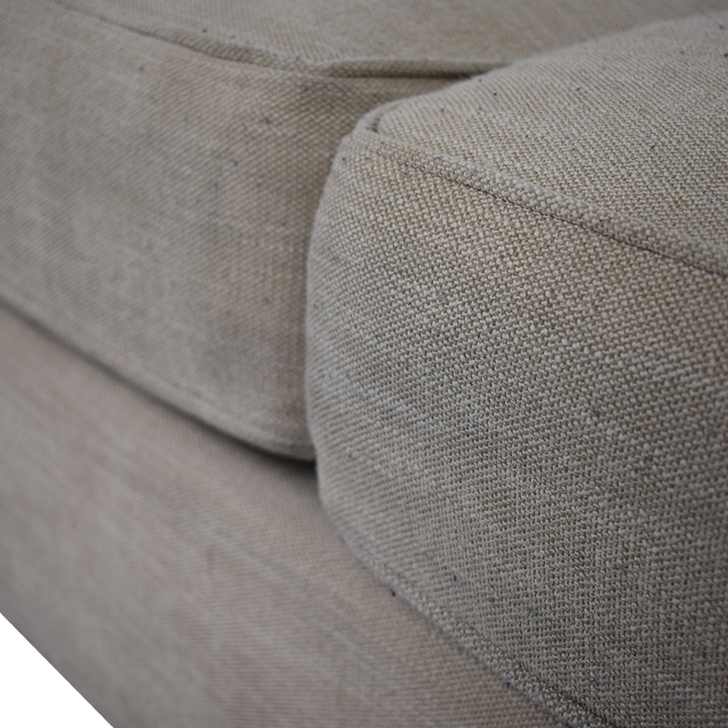 Pottery Barn Pottery Barn Grey Roll Arm Upholstered Couch dimensions