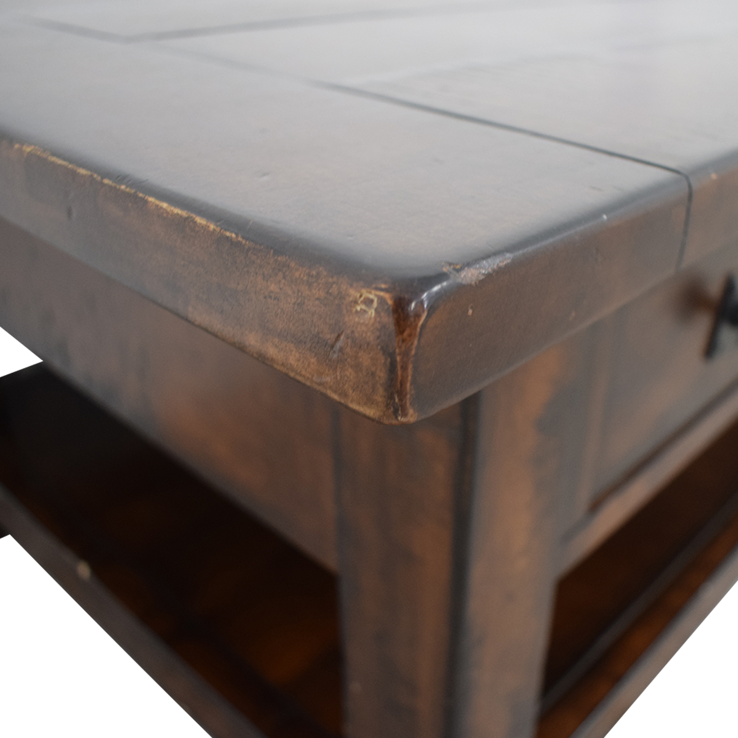 Pottery Barn Pottery Barn Benchwright Two-Drawer Coffee Table second hand