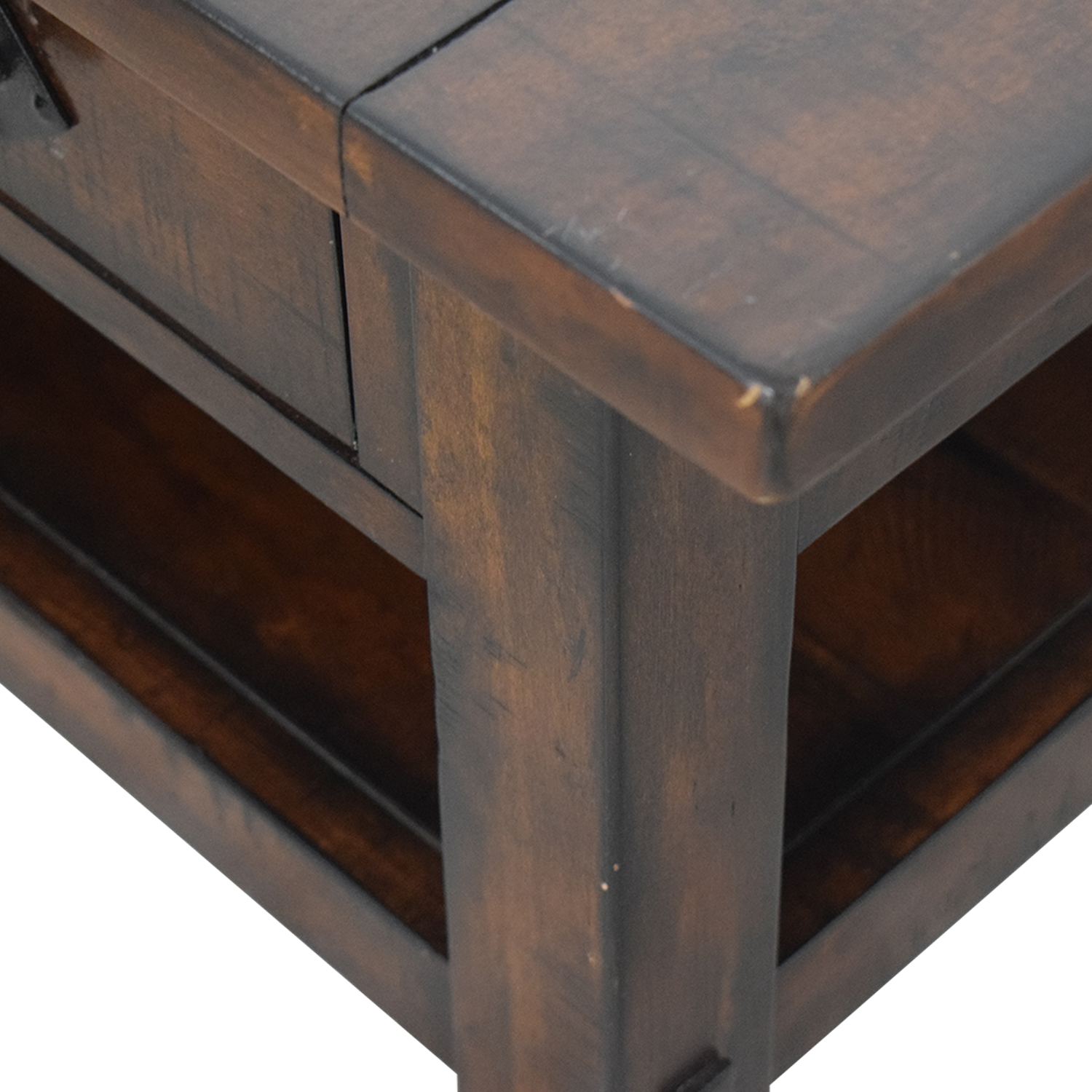 Pottery Barn Pottery Barn Benchwright Two-Drawer Coffee Table discount