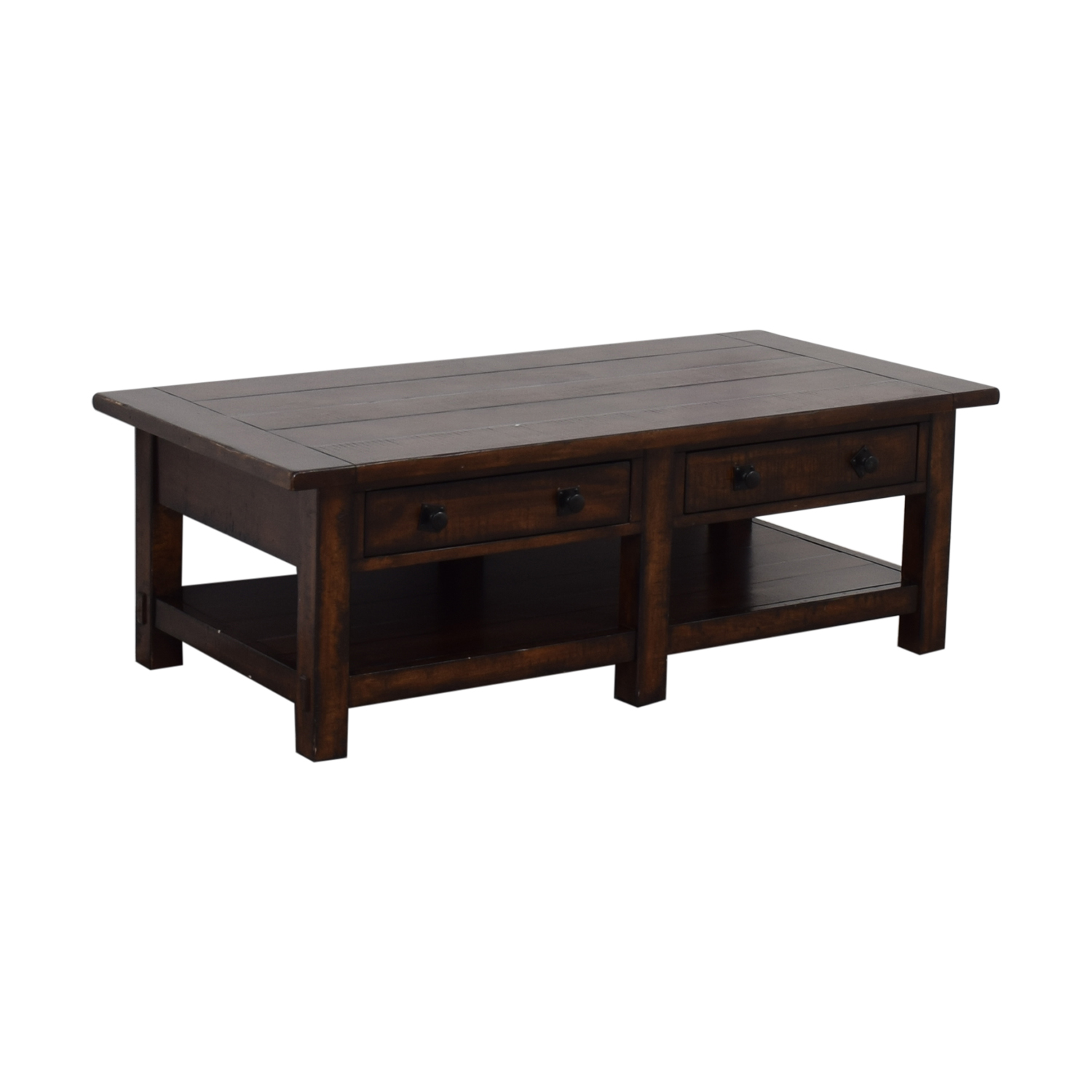 Pottery Barn Pottery Barn Benchwright Two-Drawer Coffee Table Coffee Tables