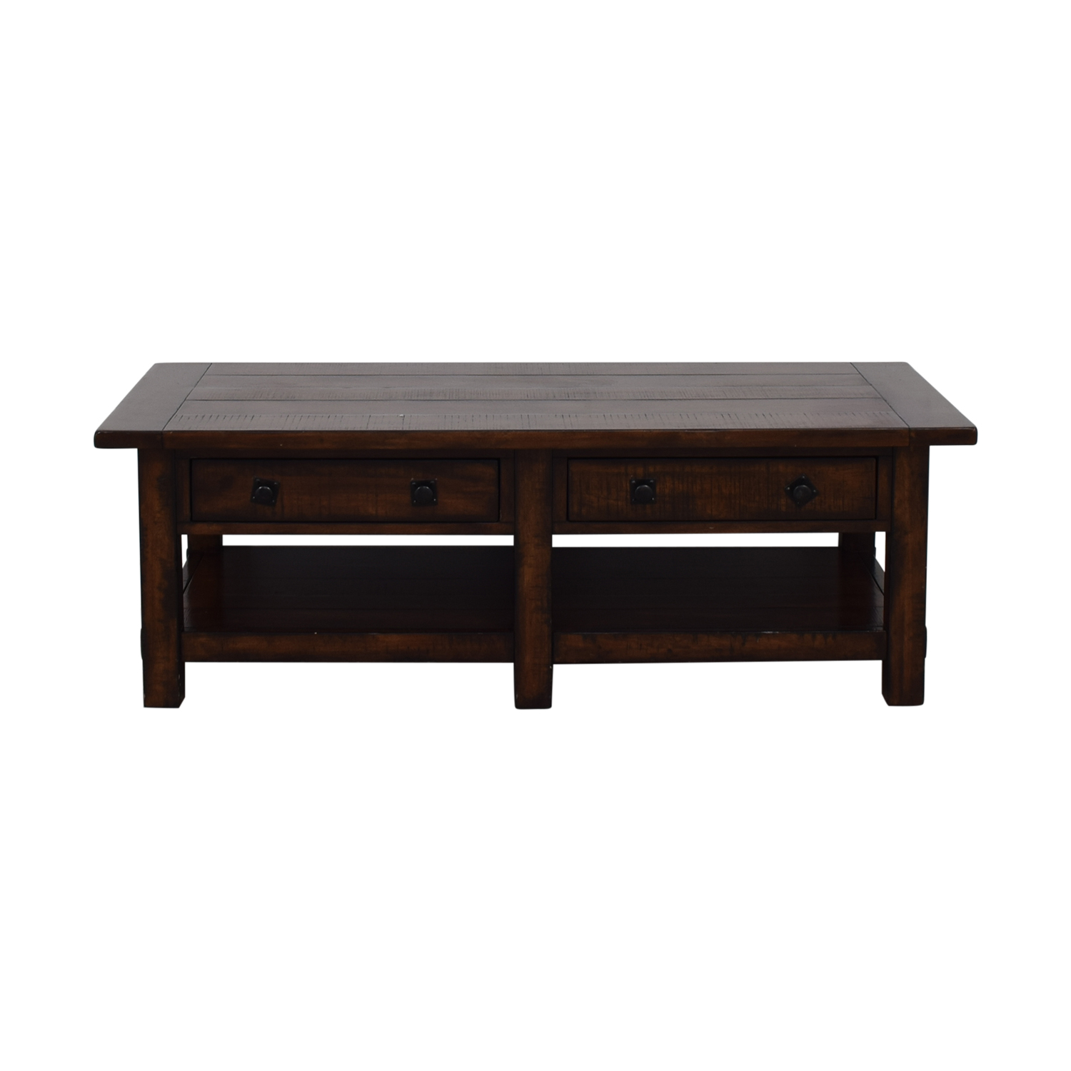 shop Pottery Barn Pottery Barn Benchwright Two-Drawer Coffee Table online
