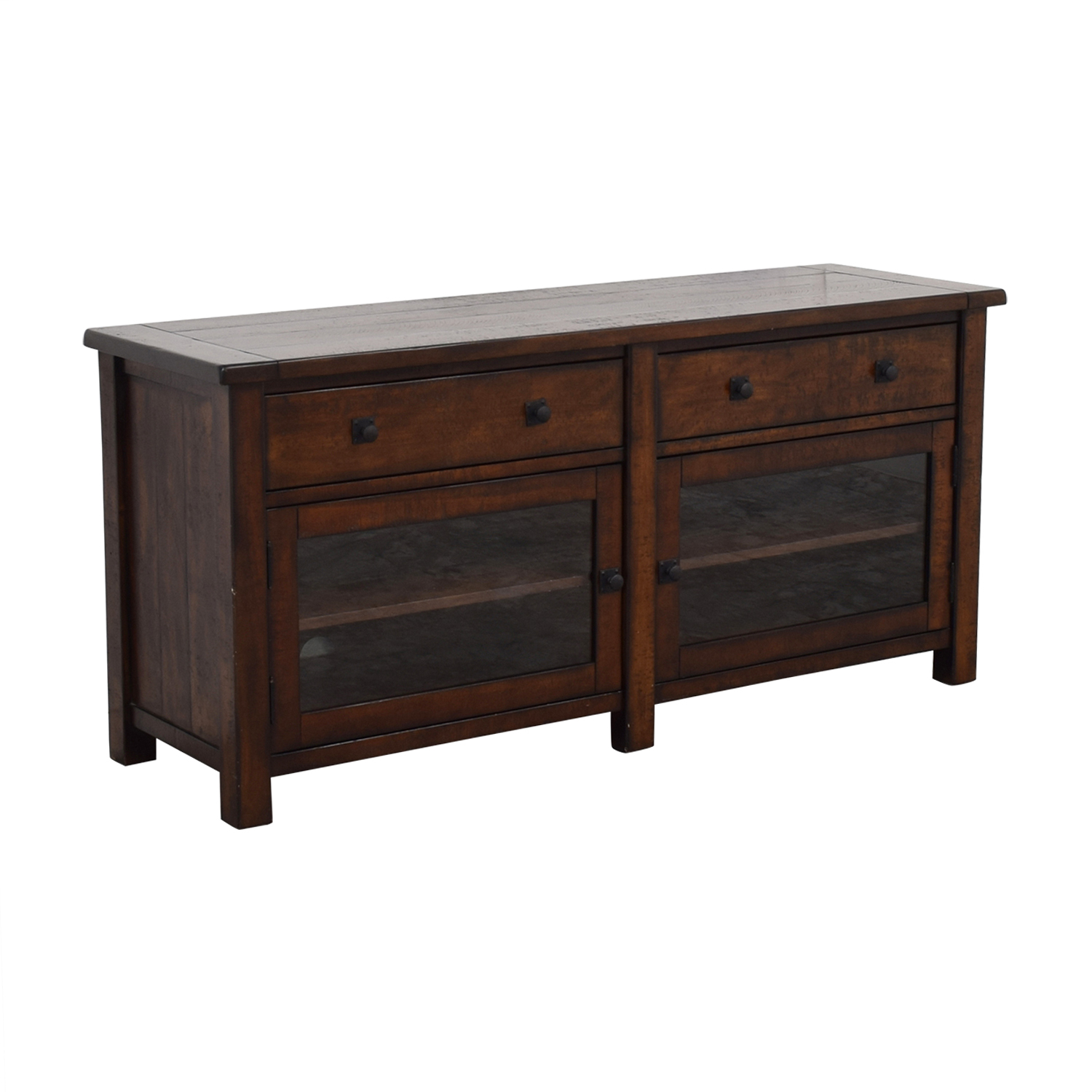 Pottery Barn Benchwright Media Console sale