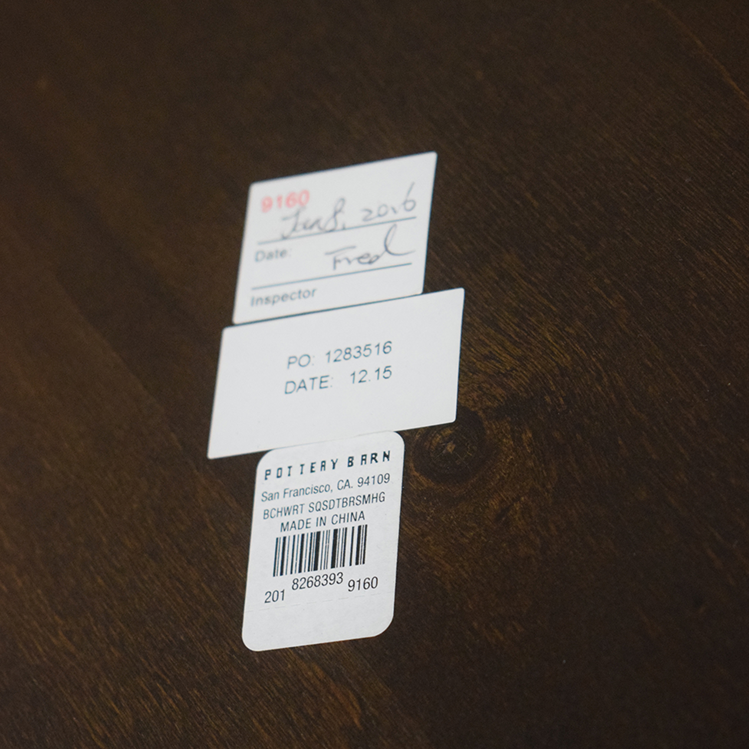 Pottery Barn Pottery Barn Benchwright Single Drawer Side Table