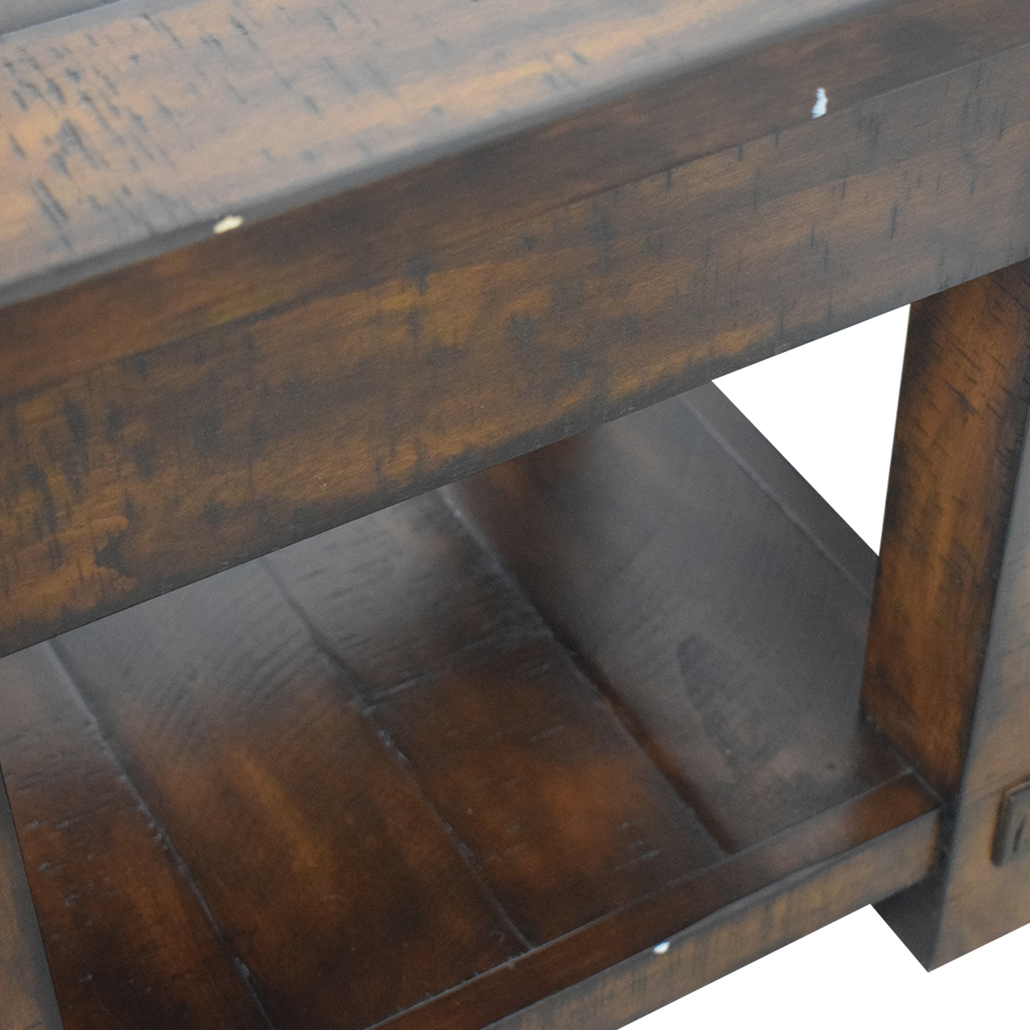Pottery Barn Pottery Barn Benchwright Single Drawer Side Table used