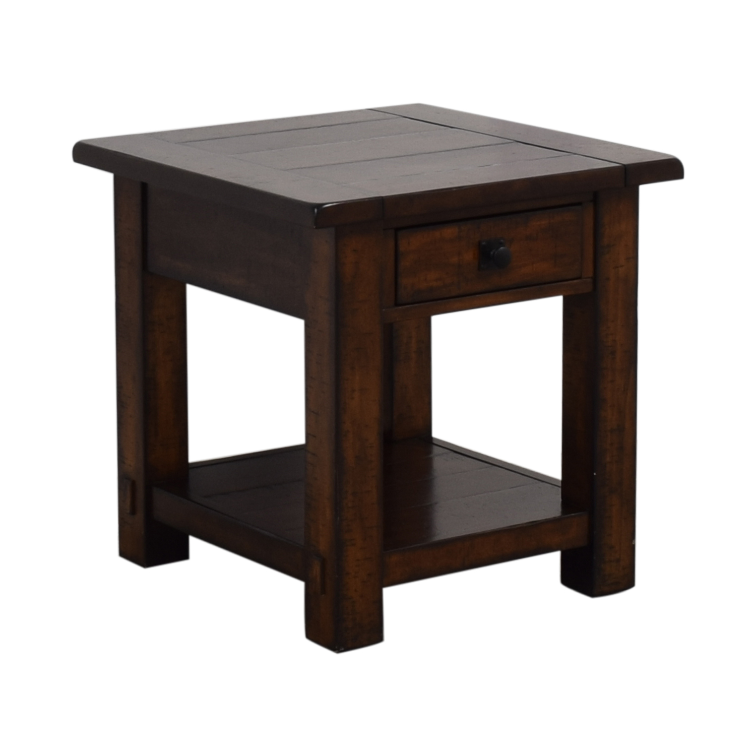 Pottery Barn Pottery Barn Benchwright Single Drawer Side Table discount