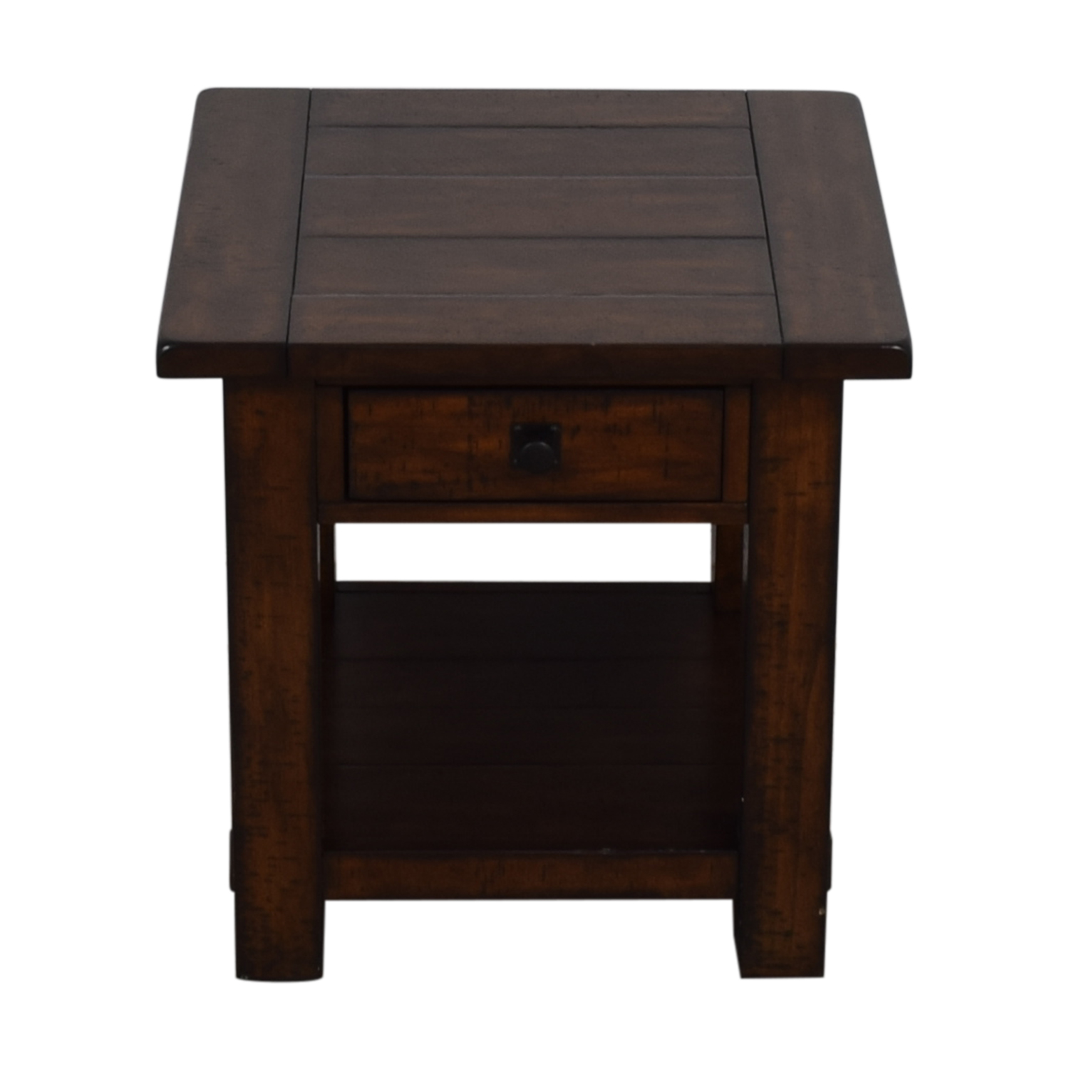 Pottery Barn Pottery Barn Benchwright Single Drawer Side Table price