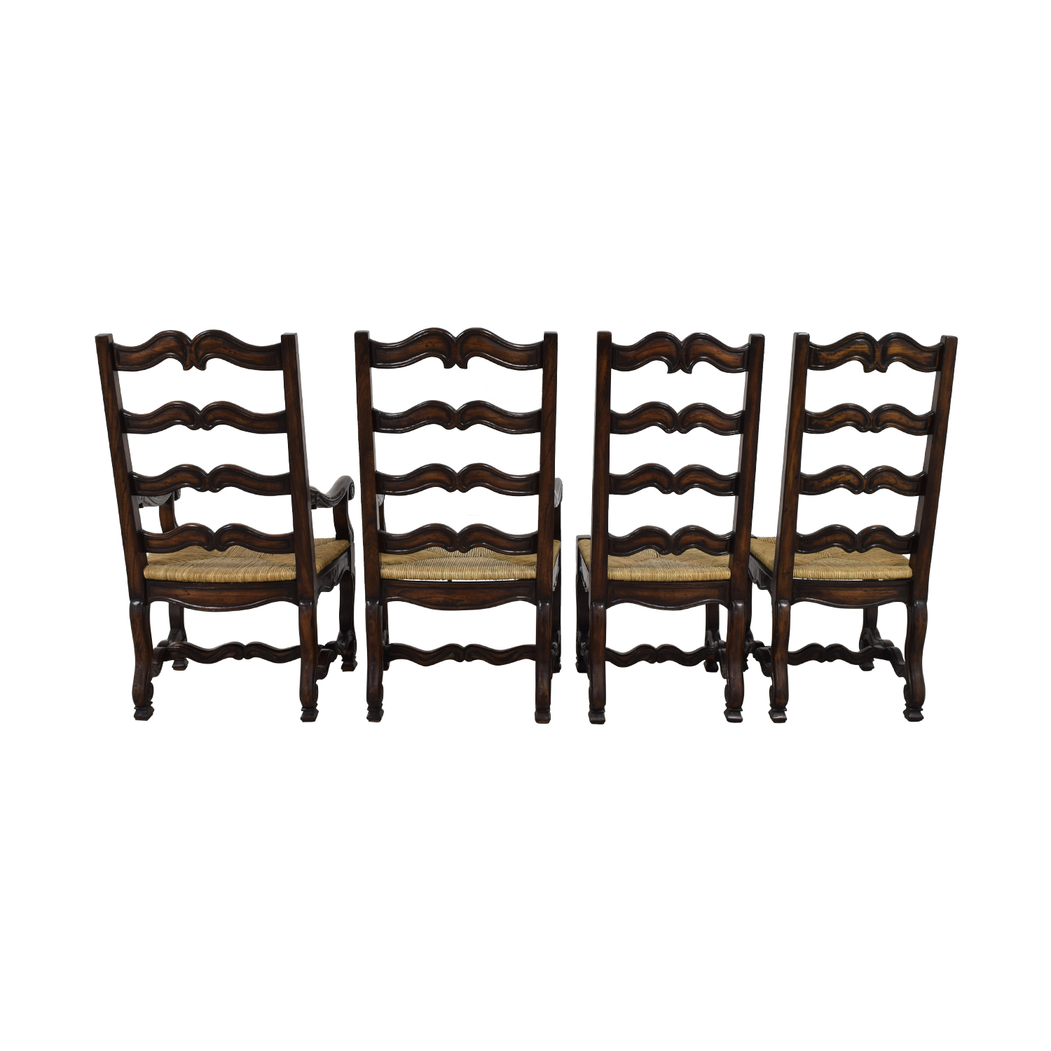 Ambella Home Ambella Home Wood and Straw Dining Chairs price