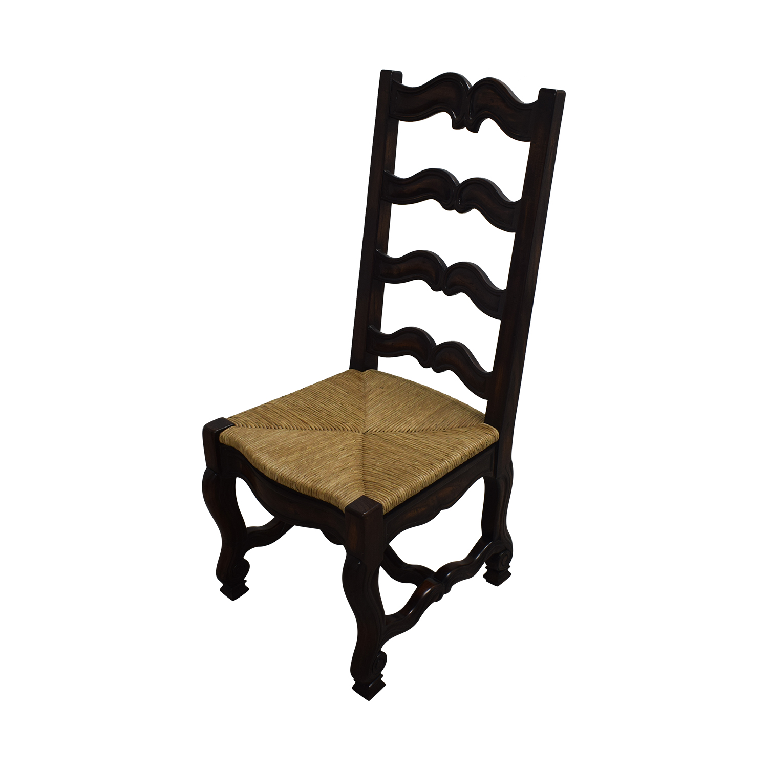 Ambella Home Ambella Home Wood and Straw Dining Chairs on sale