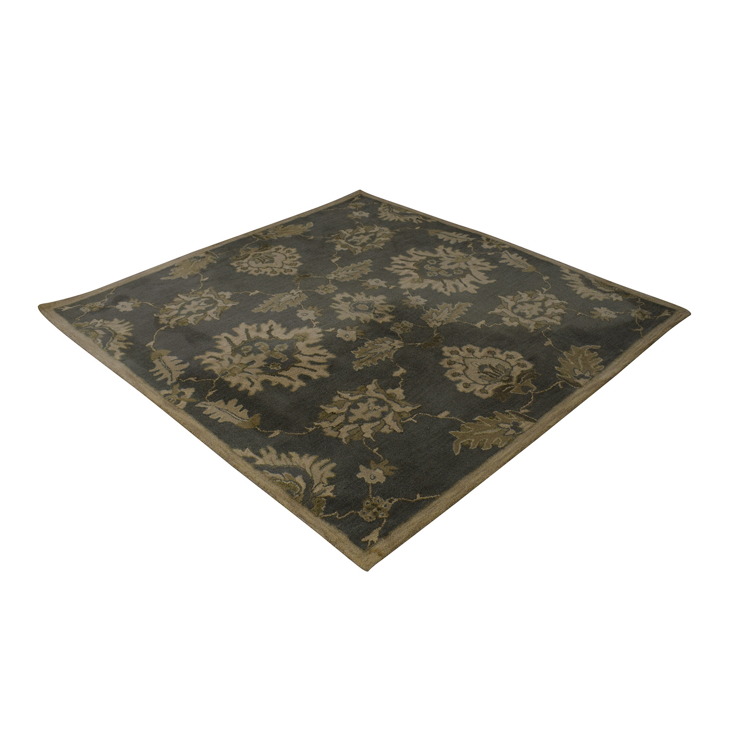 Surya Surya Basset Caesar Grey and Beige Rug coupon