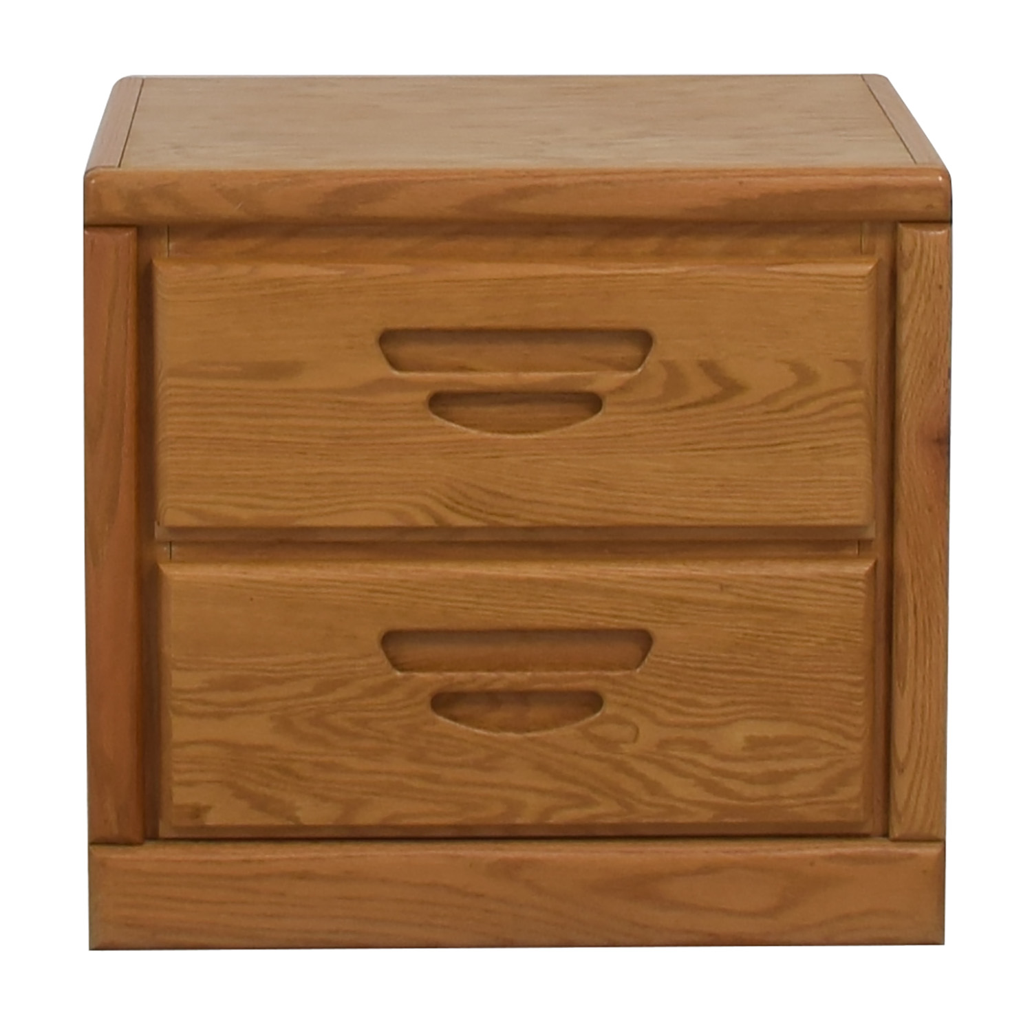 Oak Two-Drawer End Table price