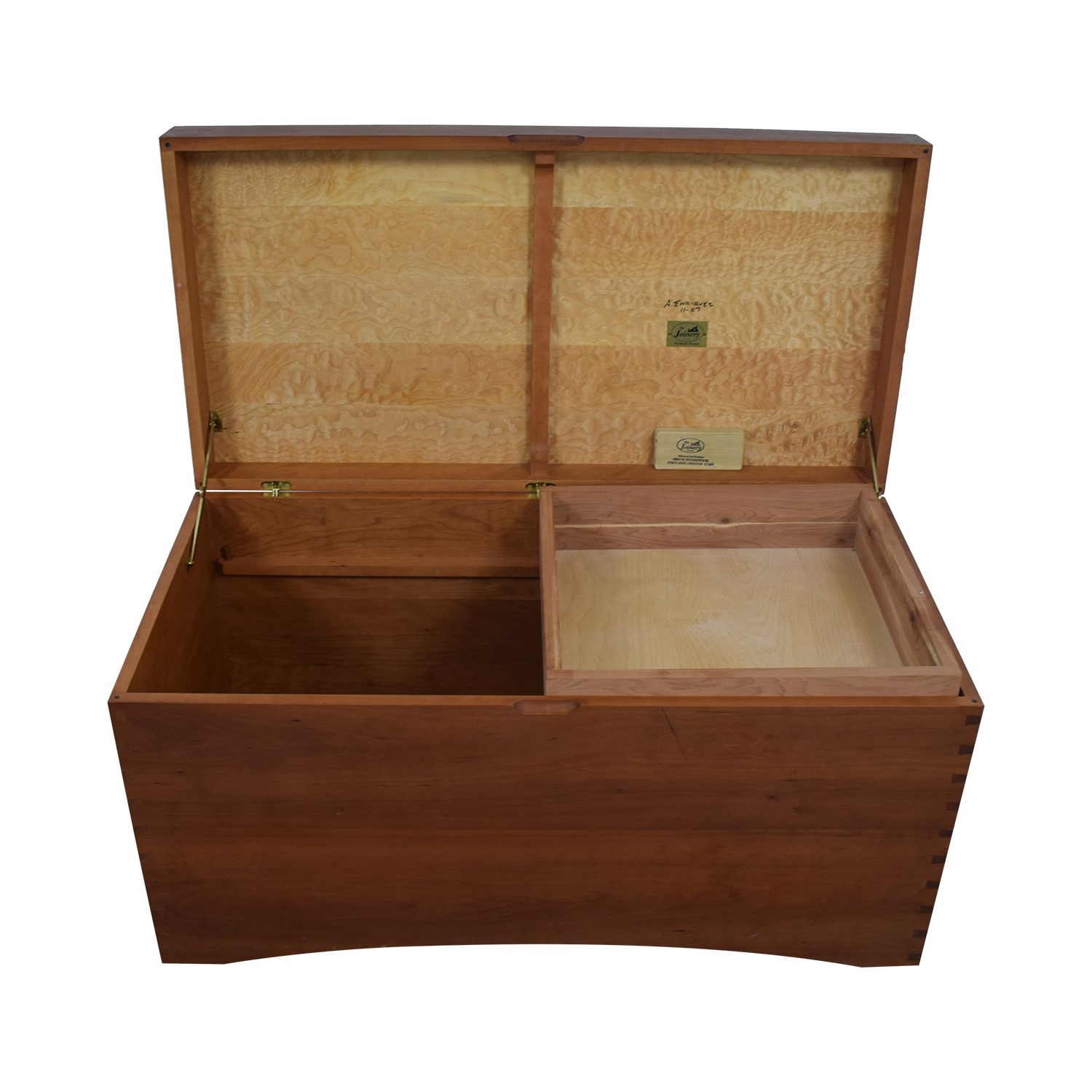 The Joinery The Joinery Custom Wood Hope Chest Trunk nyc