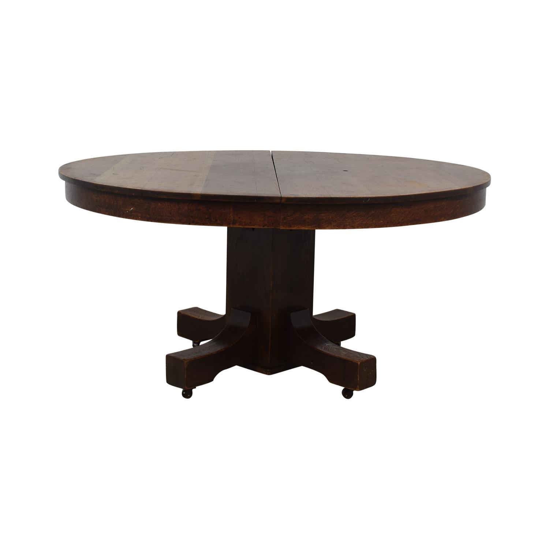 Expandable Oak Table coupon